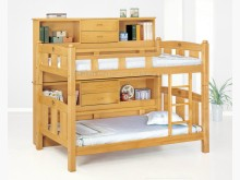 [全新] 2104705-1檜木雙層床組單人床架全新
