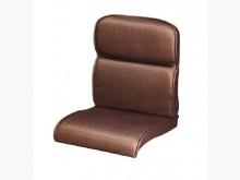 [全新] 雙凸咖啡色編織皮椅墊 滿7片免運木製沙發全新