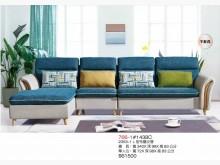 [全新] 高上{全新2353-1L型布藝沙L型沙發全新