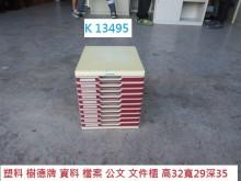 [8成新] K13495 樹德牌 資料櫃辦公櫥櫃有輕微破損