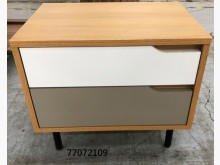 [全新] 77072109 雙色床頭櫃床頭櫃全新