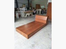 木紋色單人床組 A00330其它家具無破損有使用痕跡