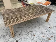 吉田二手傢俱❤實木餐桌會議桌餐桌近乎全新