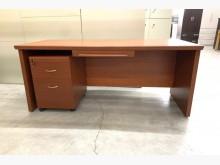 主管桌+活動櫃/書桌/電腦桌書桌/椅近乎全新