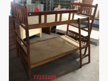 [9成新] 庫存/零碼 胡桃色雙層床單人床架無破損有使用痕跡