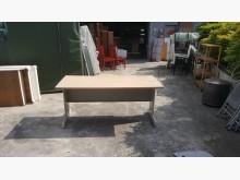 合運二手傢俱160木紋辦公工作桌辦公桌無破損有使用痕跡