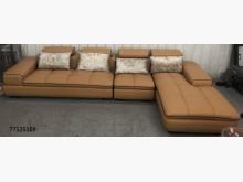 [全新] 77125109淺咖啡色L型沙發L型沙發全新