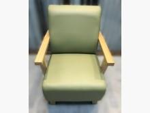 [全新] 全新綠色單人皮沙發 二手茶几 二單人沙發全新