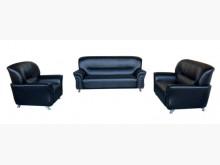 [全新] 新黑色杰克123皮沙發*二手茶几多件沙發組全新