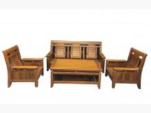 [9成新] *樟木組椅1+1+3+大茶几*中木製沙發無破損有使用痕跡