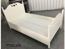 [全新] 77161109 白色床架單人床架全新