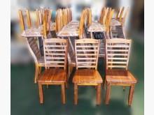 [全新] 庫存實木相思木餐桌椅餐椅全新