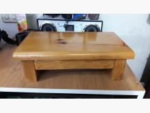 再生傢俱~原木桌上展示台收藏擺飾全新