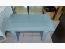 九成五新木心板強化玻璃辦公桌其它桌椅近乎全新