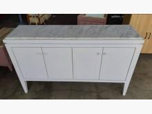 九成五新木心板北歐風雲石櫥餐櫃碗盤櫥櫃近乎全新