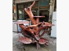 [8成新] 三合二手物流(紅檜樹頭展示座)其它古董家具有輕微破損