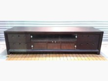 [8成新] A1209DJJJ七尺胡桃電視櫃電視櫃有輕微破損