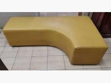 [9成新] 三合二手物流(L型皮沙發)雙人沙發無破損有使用痕跡