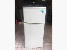 「二手」東元 130公升雙門冰箱冰箱無破損有使用痕跡