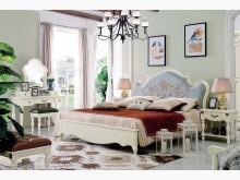 [全新] 蘇菲亞法式6尺床台$44300雙人床架全新