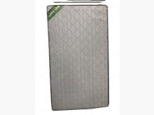 [9成新] 灰色獨立筒床墊 * 二手中古 床單人床墊無破損有使用痕跡