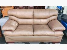 [9成新] 雙人沙發 兩人 2人沙發 牛皮雙人沙發無破損有使用痕跡
