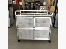全新3尺雙箱鋁架/廚房收納櫃其它櫥櫃全新