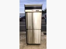 兩門上凍下藏冰箱/白鐵冰箱冰箱近乎全新