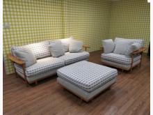 [9成新] 日系小清新百變3+1沙發 L型沙L型沙發無破損有使用痕跡