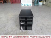 [8成新] K13919 10抽 資料櫃辦公櫥櫃有輕微破損