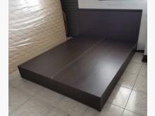 三合二手物流(胡桃5*6床組)雙人床架無破損有使用痕跡