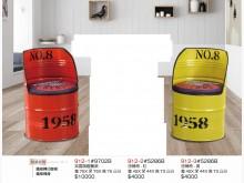 [全新] 高上{全新}油桶椅紅(912/2餐椅全新