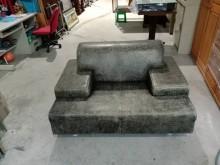 [9成新] 全牛皮單人加大沙發H02574單人沙發無破損有使用痕跡