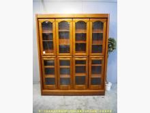 [9成新] 二手柚木色171公分收納雙排書櫃書櫃/書架無破損有使用痕跡