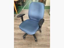 吉田二手傢俱❤藍色布OA椅電腦椅電腦桌/椅無破損有使用痕跡