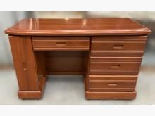 [8成新] 木色書桌書桌/椅有輕微破損