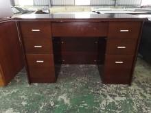 01262-辦公桌辦公桌無破損有使用痕跡