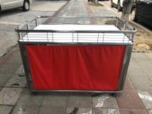 大慶二手家具 紅色拍賣花車收納櫃無破損有使用痕跡