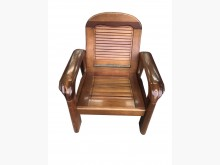 [9成新] 原木色單人沙發 *二手中古 實木木製沙發無破損有使用痕跡