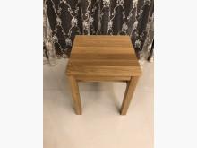 [95成新] 無印良品無垢材桌邊凳/典雅橡木書桌/椅近乎全新