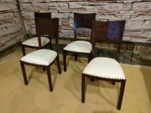 歐式鉚釘餐椅 自取價900/張餐椅無破損有使用痕跡