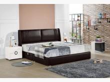 [全新] 科羅旺黑色6尺抽屜床組雙人床架全新