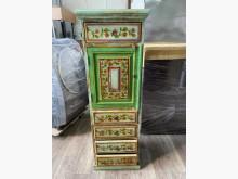 吉田二手傢俱❤異國風實木櫥櫃收納櫃無破損有使用痕跡