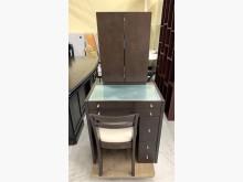 梳妝桌椅組/化妝桌椅/鏡台桌椅鏡台/化妝桌無破損有使用痕跡