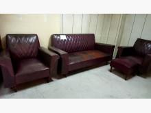 [8成新] 大台北二手傢俱-復古沙發組多件沙發組有輕微破損