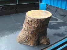 [8成新] 連欣二手傢俱-原木椅其它桌椅有輕微破損