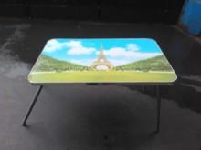 [8成新] 連欣二手傢俱-巴黎鐵塔折疊桌其它桌椅有輕微破損