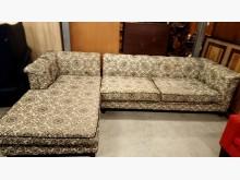 大台北二手傢俱-L型布沙發L型沙發無破損有使用痕跡