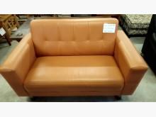 大台北二手傢俱-2人皮沙發雙人沙發無破損有使用痕跡