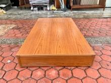 香榭*柚木色單人加大3.5尺床箱單人床架無破損有使用痕跡